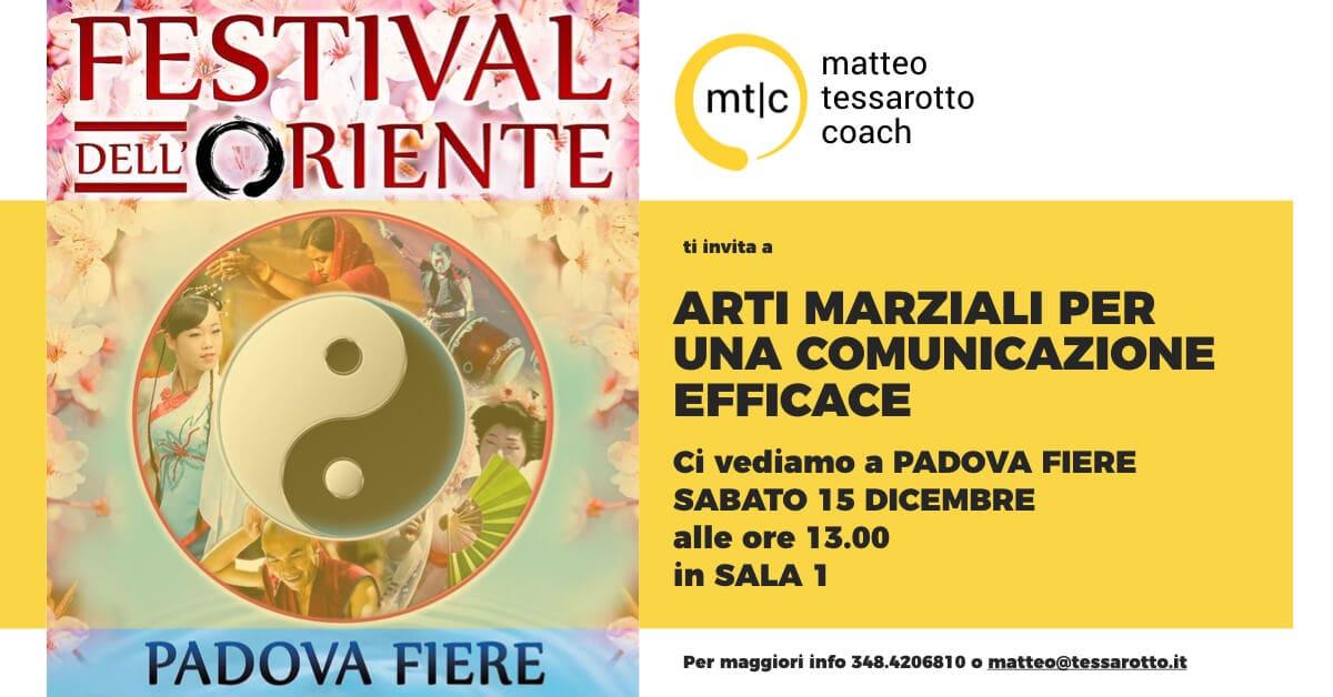 Arti Marziali per una Comunicazione Efficace al Festival dell'Oriente a Padova